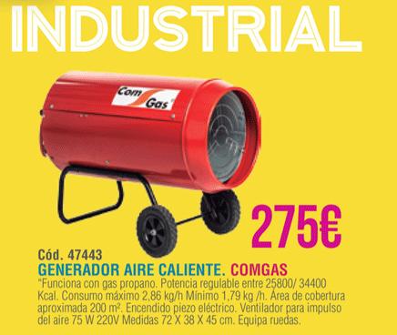 Generador-Aire-Caliente Barato