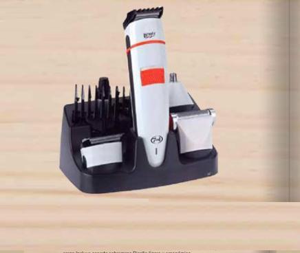 Cortapelo eléctrico recargable
