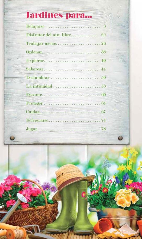 Catalogo Todo para Terraza y Jardín