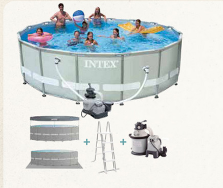 Piscina Marco Metalico Intex