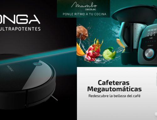 Ven a ver cómo los productos CECOTEC pueden hacerte la vida más fácil, del 6 al 13 de noviembre en Feinpra (Plz España)