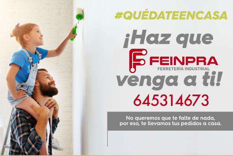 Feinpra te lo lleva a casa #quedateencasa