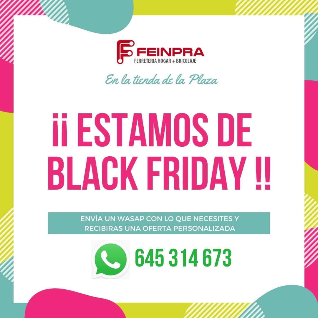 Feinpra Ofertas Black Friday Villacañas